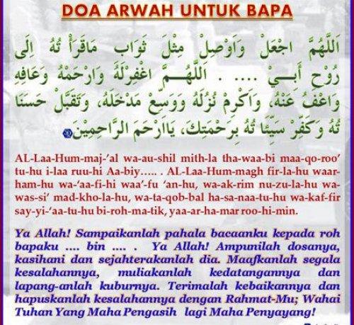 Inilah Doa Untuk Orang Tua Yang Sudah Meninggal Dunia Bakti