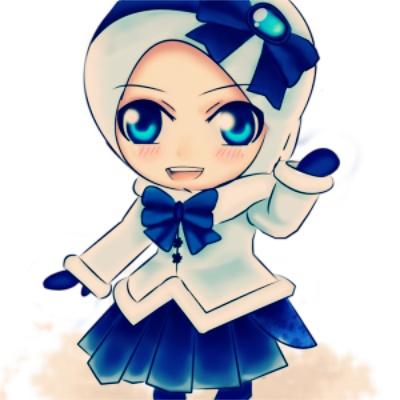 73 Gambar Kartun Muslimah Yang Cantik Dan Lucu Gratis Terbaru