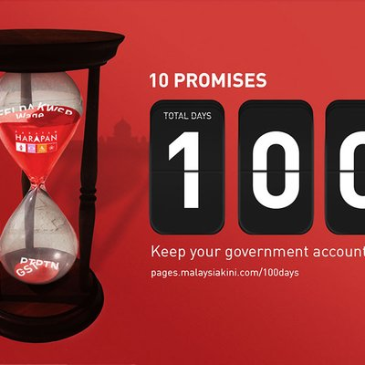 Keeping Track Of Harapan S Election Manifesto 100 Day Promise