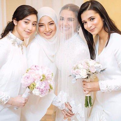 Cantik Kad Kahwin Neelofa Dan Pu Haris Ada Tema Lagi Untuk Datang Ke Majlisnya Kisahbena