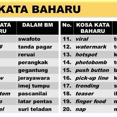 Kosa Kata Dan Ungkapan Menarik Bahasa Melayu Spm