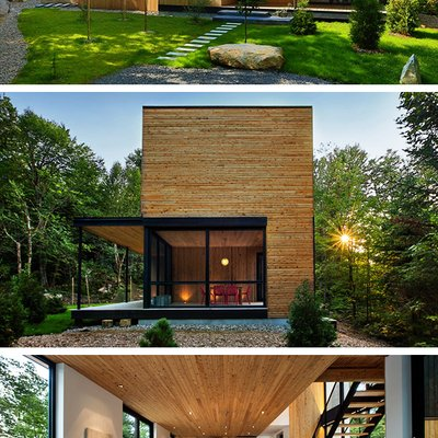 La Chasse Galerie Home By Thellend Fortin Architectes In Montreal Canada