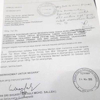 Laporan Polis Peguam Fitnah Ksn Dan Bekas Ksusk Yab Pm Terima Rm 3 Juta