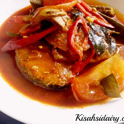 Menu Simple Ikan Tongkol Masak Kari