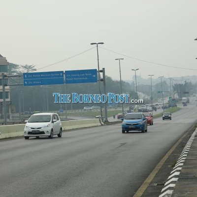 Most Parts Of Sarawak Still Record Unhealthy Air Quality