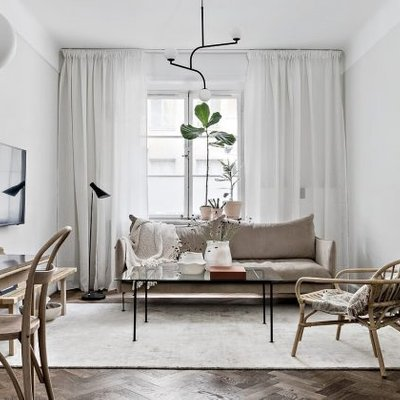 Natural Style Fashion Apartment