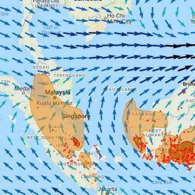 Northerners Get Respite From Haze