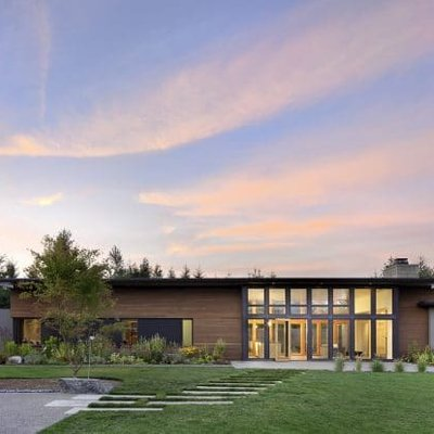 Olympia Prairie House By Coates Design In Yelm Washington
