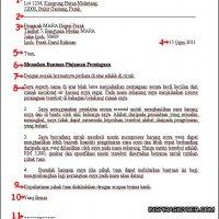 Panduan Menulis Surat Rasmi Memohon Cuti Sekolah