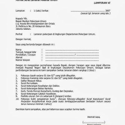 Contoh Surat Pernyataan Ijazah Ditahan Detil Gambar Online