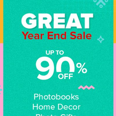 Photobook Great Year End Sale