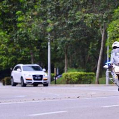 Police Outrider Injured While Escorting Convoy With Perak Royalty