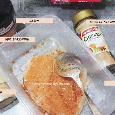 Resepi Ayam Bakar Sihat Guna Air Fryer