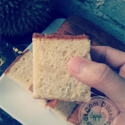 Resepi Kek Chiffon Durian