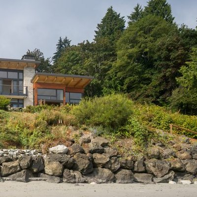 Seaview Escape By Coates Design Architects In Washington Usa