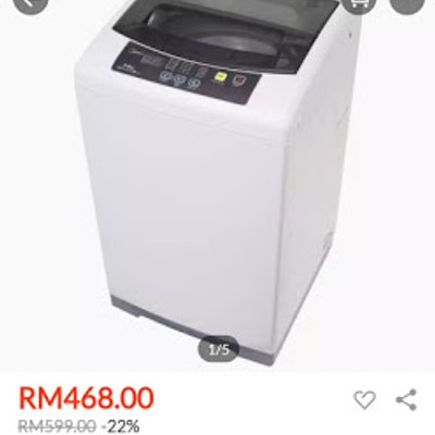 Tawaran Terkini Media Washing Machine