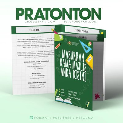Template Buku Program Tema Bebas V4
