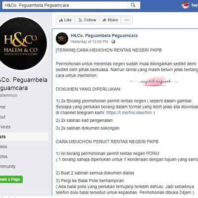 Terkini Borang Rentas Negeri Pkpb Pdrm Borang Permit Pergerakan