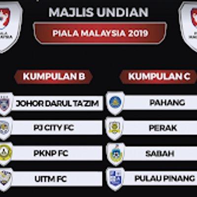 Terkini Keputusan Undian Piala Malaysia 2019
