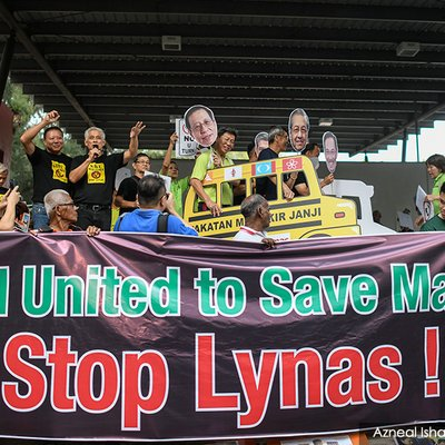 Teruntum Rep Quizzed Over Anti Lynas Rally
