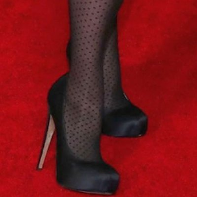 Tina Fey S Legs And Feet In Tights 10