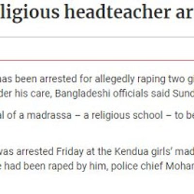 What The Retards Have Been Up To When You Were Not Looking More Rape In Bangla Madrasas