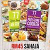 77 Resipi Istimewa Air Fryer Dan Pressure Cooker By Chef Hanieliza