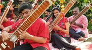 Cultural Mash Up When A Sitar Ensemble Ushers In Cny