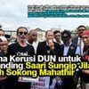 Kerana Kerusi Dun Untuk Bertanding Saari Sungip Jilat Ludah Sokong Mahathir