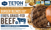 Mushroom Onion Burger Blend Teton Waters Ranch
