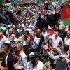 Ribuan Rakyat Palestin Bantah Pelan Damai As