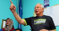 Sabahans Couldn T Be Bothered With Najib Bossku Gets Only Lukewarm Response While Playing Busy Body In Kimanis