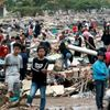Sick Hungry Indonesia Tsunami Survivors Cram Shelters
