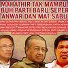 Video Rakaman Suara Mat Sabu Anwar Ibrahim Dan Mahathir Mohamed