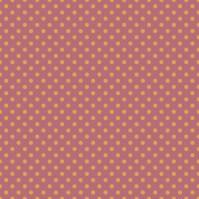 pois jaunes moyens sur fond rose