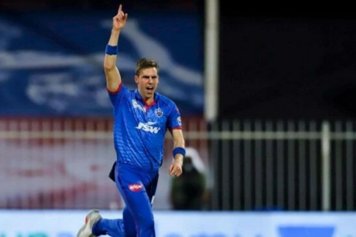 Anrich Nortje bowls the fastest ball in IPL 2020