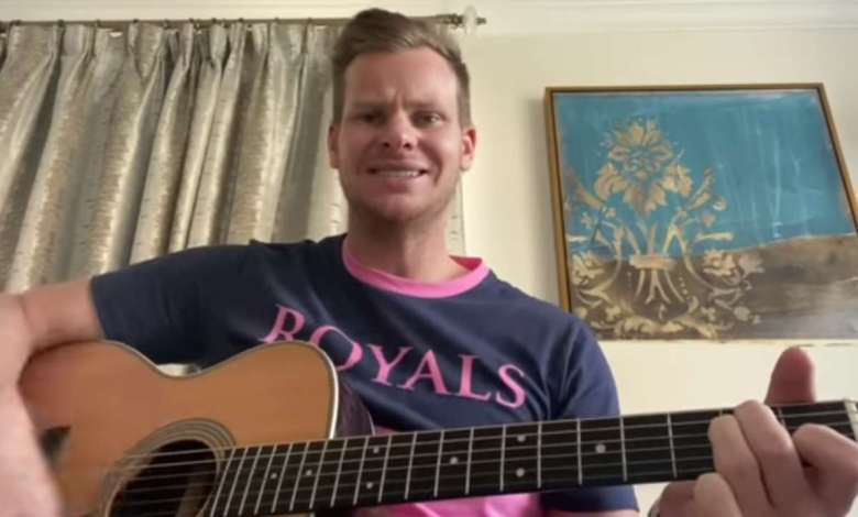 Steve Smith's Musical skills will blow your mind: Watch Video