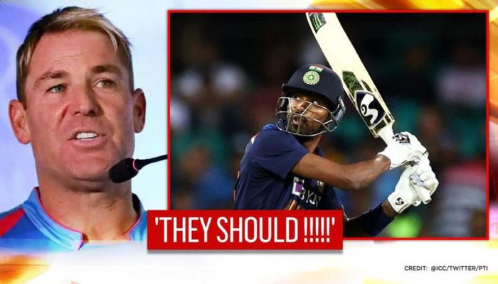 Shane Warne says Hardik Pandya should be in India's Test Team