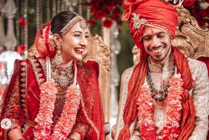 Yuzvendra Chahal ties the knot with Dhanashree Verma: Check Photos