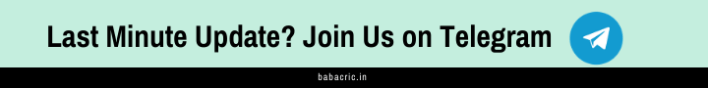 Join Babacric Telegram Channel