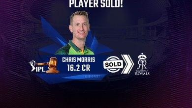 Photo of IPL 2021: Bought Chris Morris for 16.25 Crores – RR, IPL Auction 2021