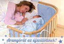 újszülött az édesanyával