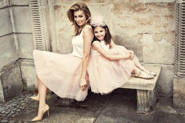 anya és lánya fotózáson