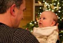 Kisbabával a karácsony