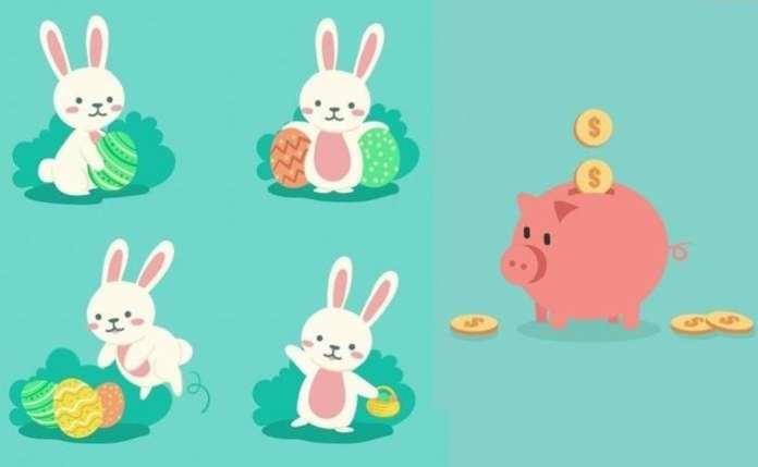 húsvét, húsvéti locsolkodás, locsoló pénz,