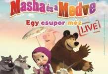 Masha és a Medve mesemusical,gyerekprogram budapest,családi program budapest
