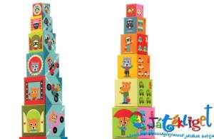 toronyépítő kocka