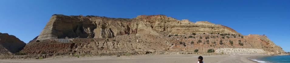 Formacje skalne między Al Hoceima i Nadorem