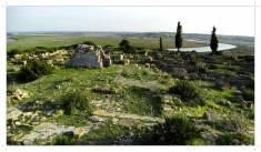 Widok na akropol - dzielnicę świątyń