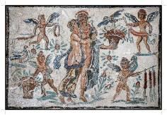 Mozaika Wenus i Adonisa; muzeum w Tetuan